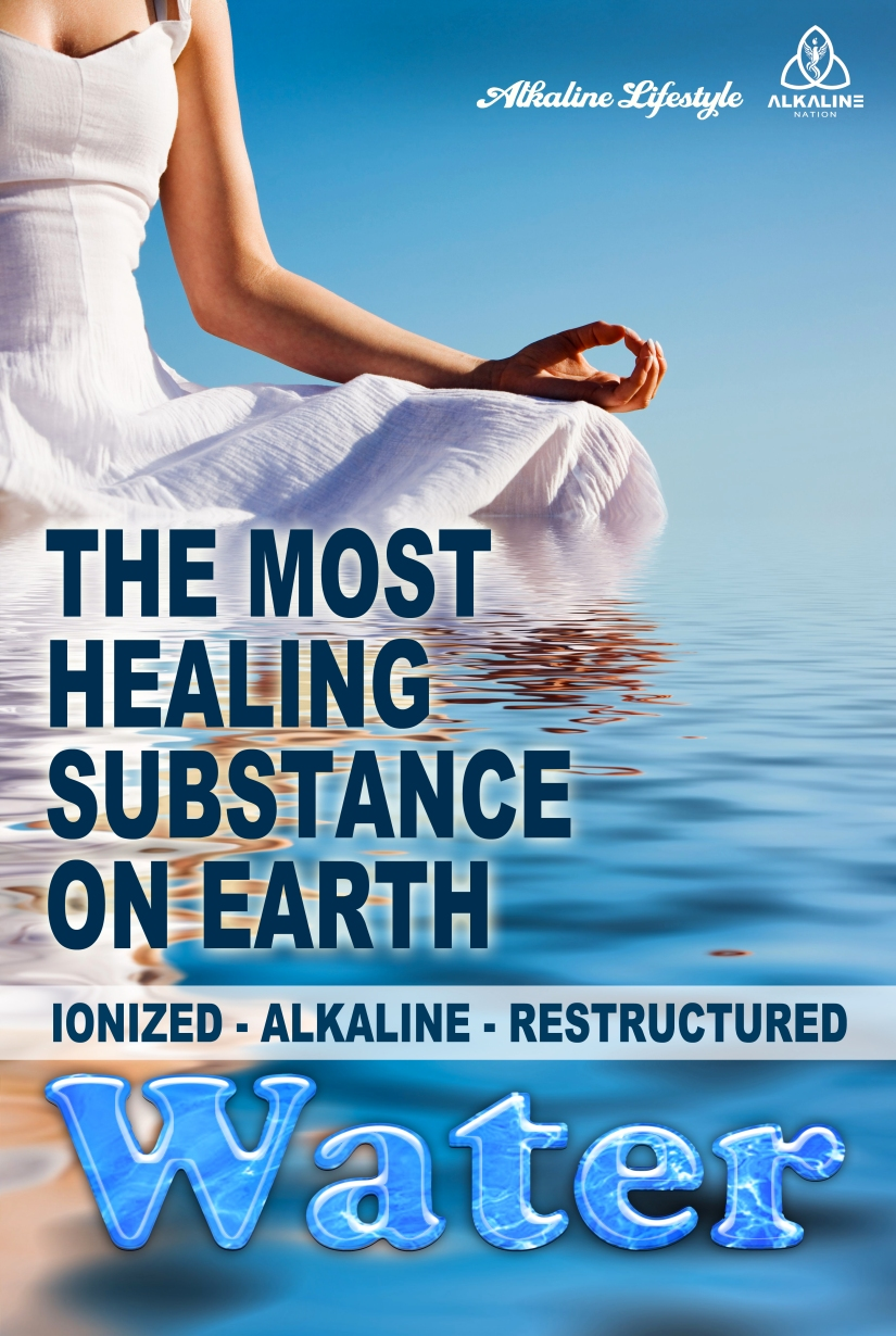 The Most Healing Water Banner 36 X 24 (1)